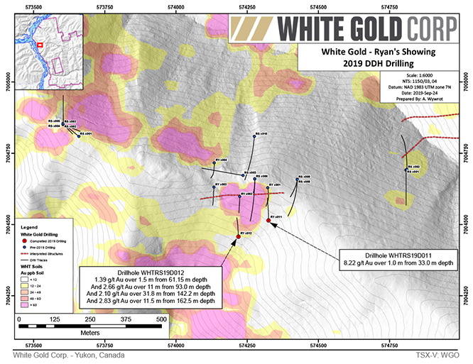 White Gold - Ryan's Showing
